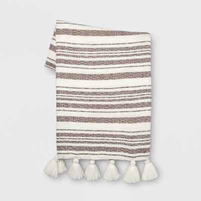 Natural Stripe Throw - Opalhouse™