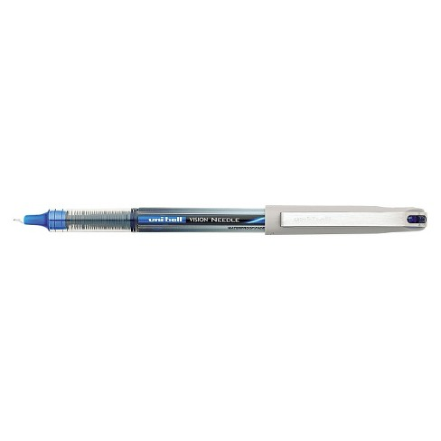 uni-ball® Vision Needle Roller Ball Stick Liquid Pen, Fine- Blue Ink (12 per Pack) - image 1 of 1