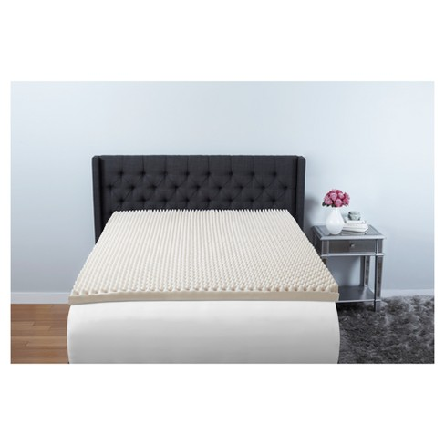 "3"" Convoluted Foam Mattress Topper - Beauty Rest® - image 1 of 2"