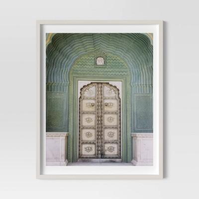 """24"""" x 30"""" Ornate Door Framed Print - Threshold™"""
