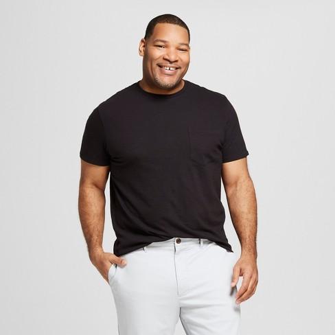 e62958af9f Men s Big   Tall Standard Fit Short Sleeve Crew Neck T-Shirt - Goodfellow    Co™ Black 5XBT