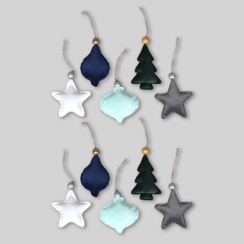 10pc Velour Ornaments - Bullseye's Playground™ - image 1 of 4