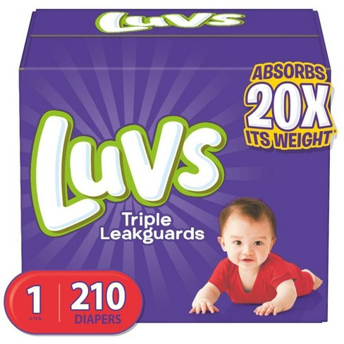 Luvs Disposable Diapers Giant Pack - (Select Size) - image 1 of 4