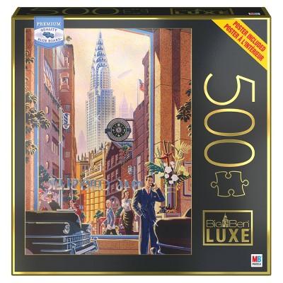 Milton Bradley Big Ben Luxe: Chrysler Building Jigsaw Puzzle - 500pc