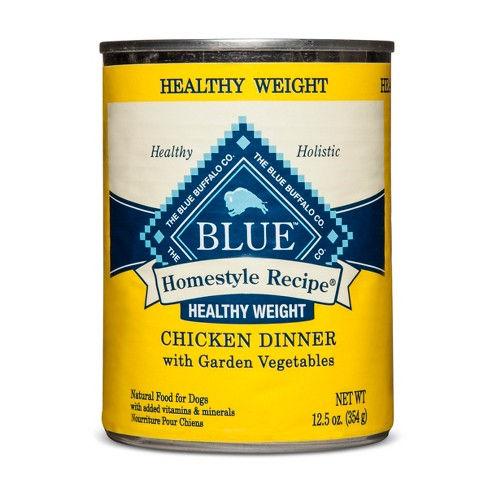 Blue Buffalo Adult Homestyle Recipe Healthy Weight Chicken Dinner - Wet Dog Food- 12.5oz - image 1 of 2