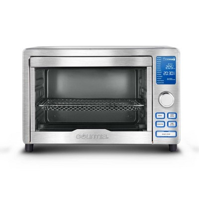 Gourmia Digital Stainless Steel Toaster Oven Air Fryer – Silver