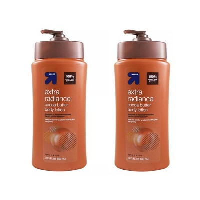 Cocoa Butter Moisturizing Lotion - 2pk/20.3 fl oz Each - up & up™