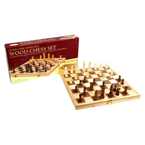 Classic Game Collection Wood Chess Set - image 1 of 1