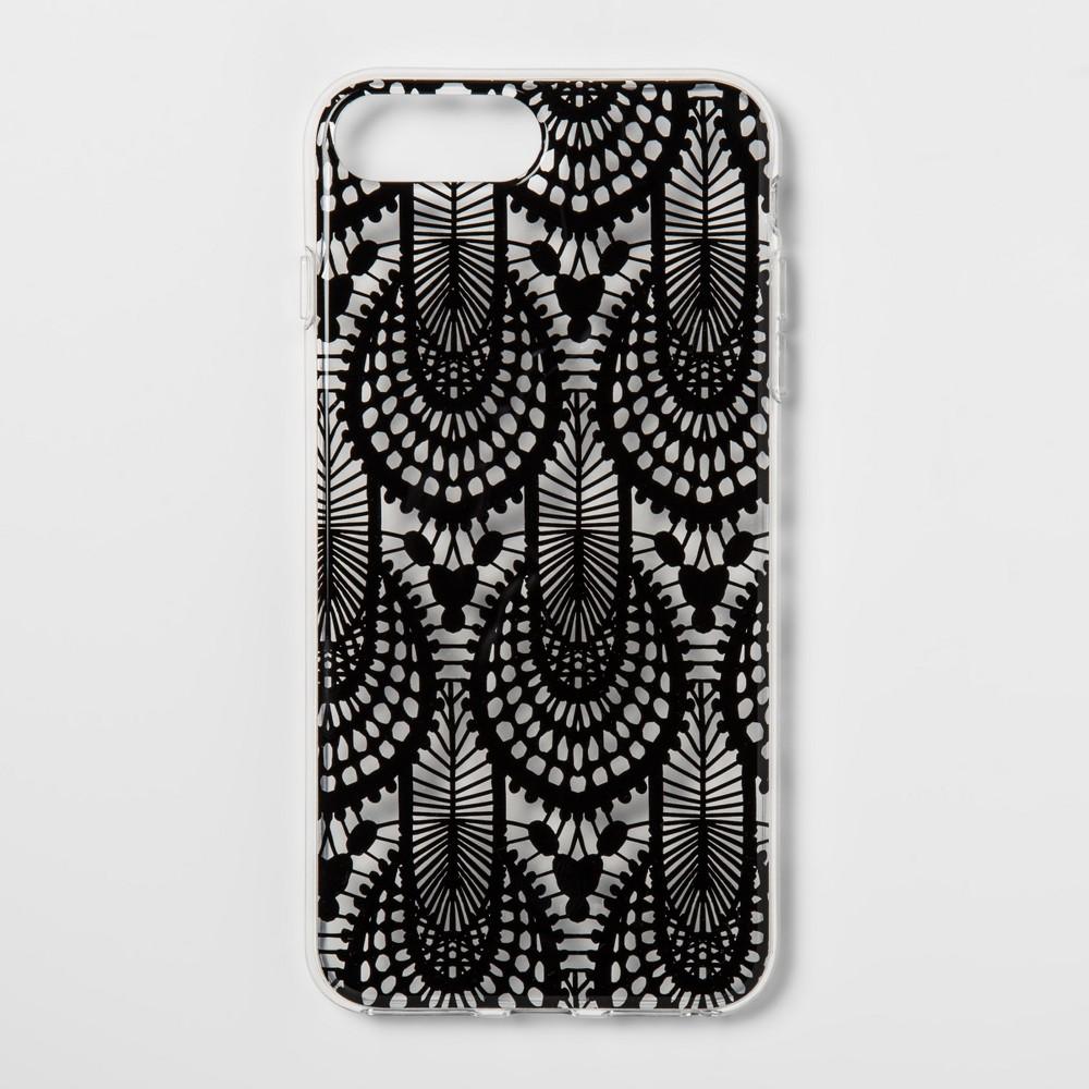 heyday Apple iPhone 8 Plus/7 Plus/6s Plus/6 Plus Case - Black Lace