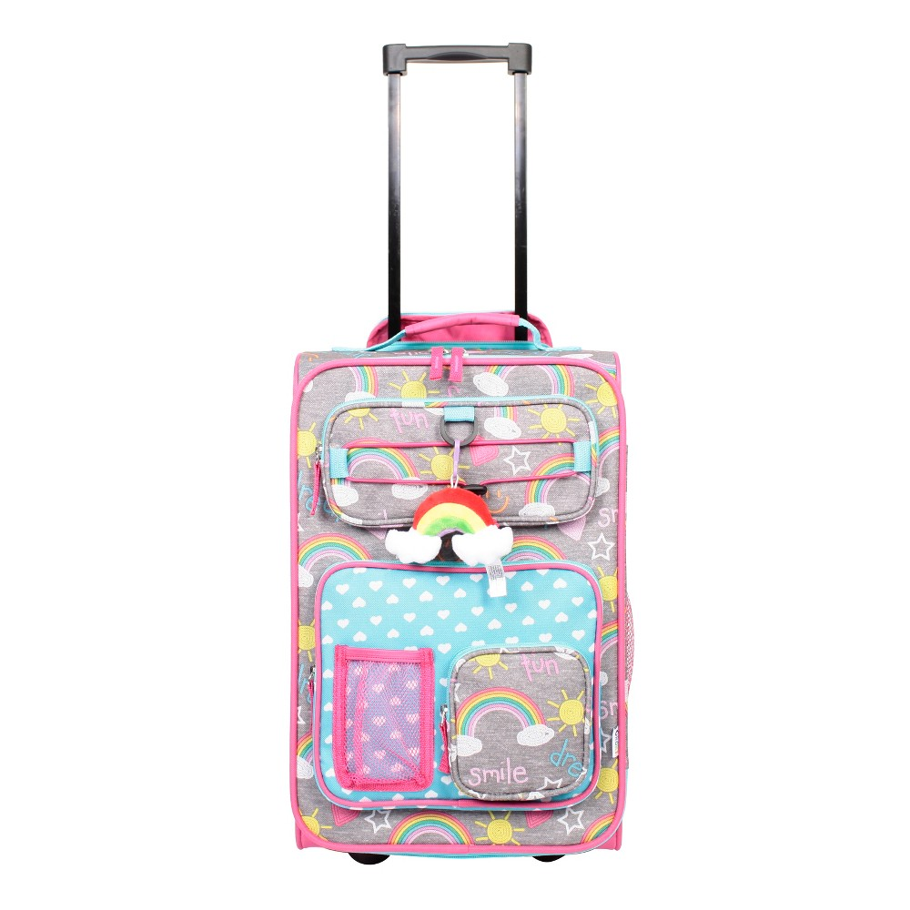 """Image of """"Crckt 18"""""""" Kids' Carry On Suitcase - Doodle, Girl's, MultiColored"""""""