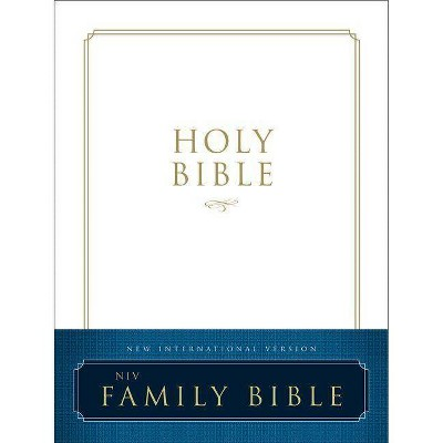 Family Bible-NIV - by Zondervan (Hardcover)