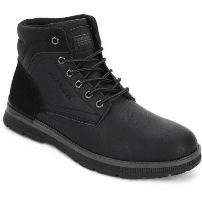 Members Only Men's Round Toe Boots