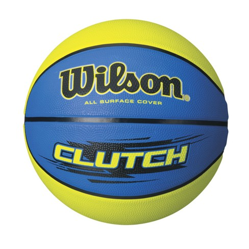 "Wilson Clutch 28.5"" Basketball - Blue/Lime - image 1 of 1"