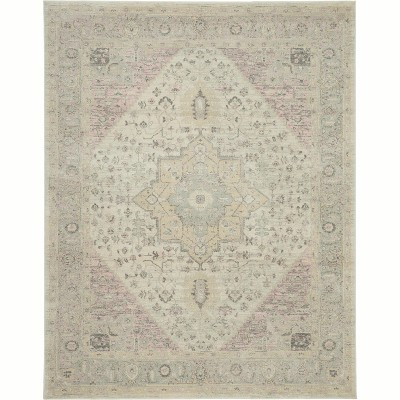 Nourison Tranquil TRA06 Distressed Traditional Area Rug