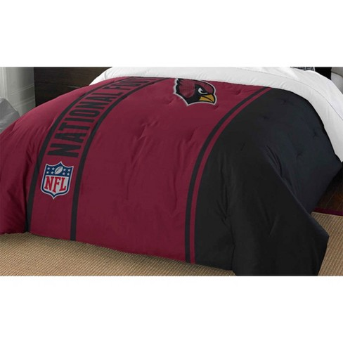 2pc Nfl Twin Comforter Set Football, Arizona Cardinals Queen Size Bedding