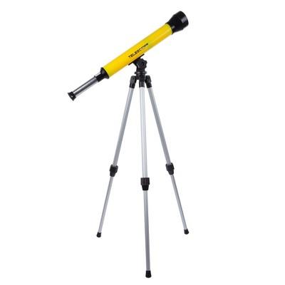Hey! Play! Kids Telescope with Adjustable Tripod - 40mm 30x