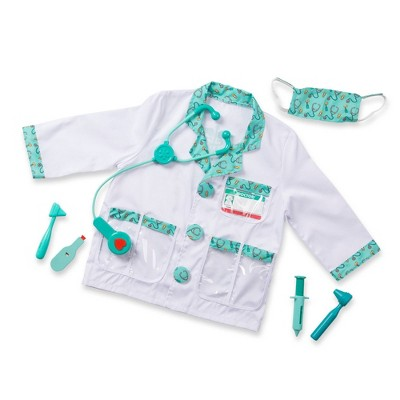 Melissa & Doug Doctor Role Play Costume Dress-Up Set (7pc)
