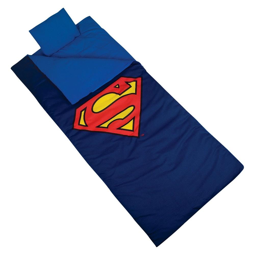 Wildkin Superman Shield Sleeping Bag (4.0 Lb), Multicolor - Dnu