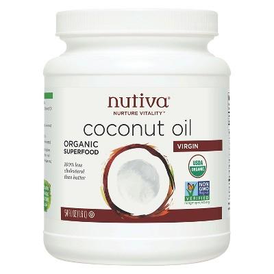 Nutiva Virgin Organic Coconut Oil - 54oz