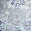 Lian Cotton Printed Shower Curtain Blue - image 2 of 2
