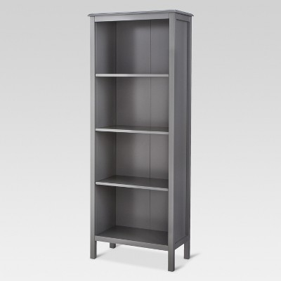 60  Windham 4-Shelf bookcase - Gray - Threshold™
