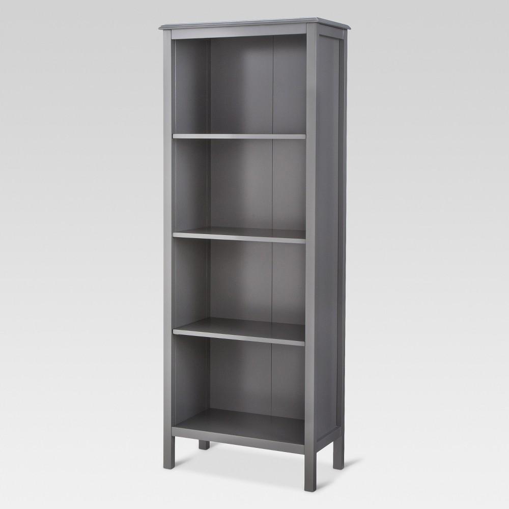 Best Online 60 Windham 4 Shelf Bookcase Gray Threshold