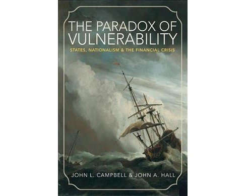Paradox of Vulnerability : States, Nationalism, and the Financial Crisis -  (Paperback) - image 1 of 1