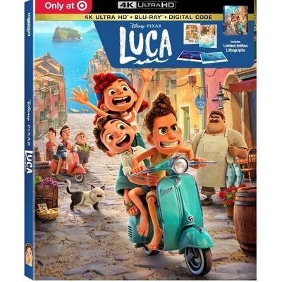 Luca (Target Exclusive)(4K/UHD + Blu-ray + Digital)