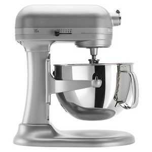KitchenAid Professional 600 Series 6-Quart Bowl-Lift Stand Mixer - KP26M1X, Nickel White