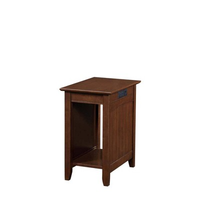 Edison End Table with Charging Station - Johar Furniture