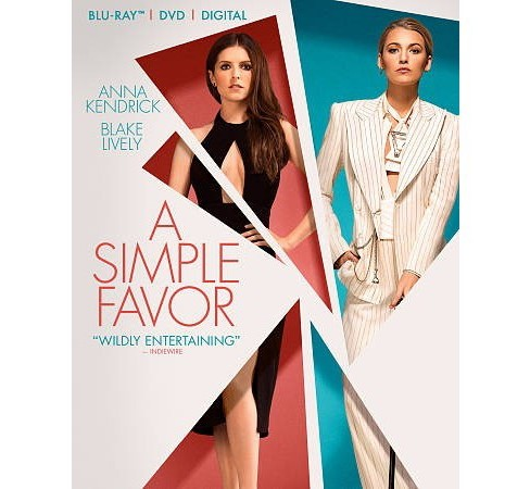 A Simple Favor (Blu-Ray + DVD + Digital) - image 1 of 1