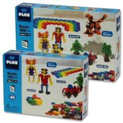 Plus Plus 450 Piece Basic Set