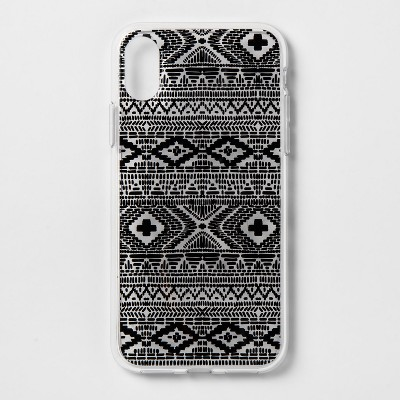 heyday™ Apple iPhone X/XS Printed Case - Black Global