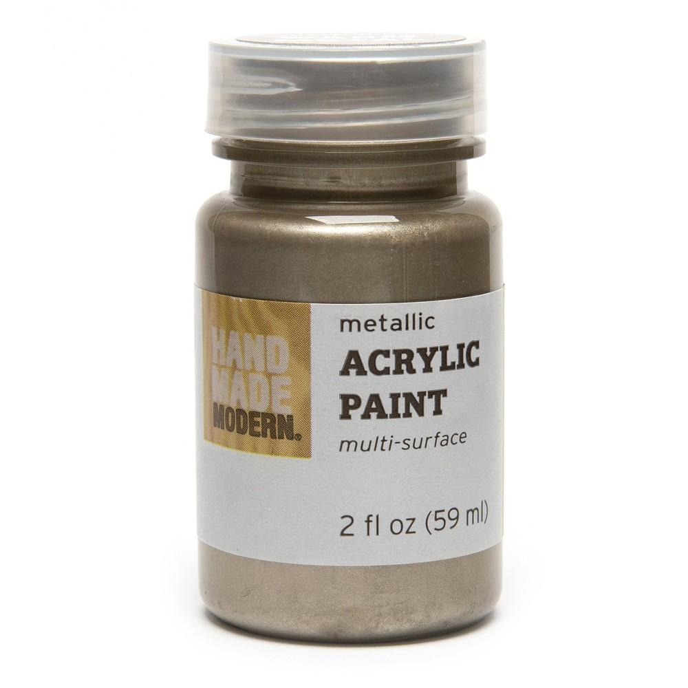 Hand Made Modern - 2oz Metallic Acrylic Paint - Warm Metal
