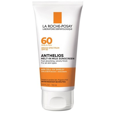 La Roche-Posay Anthelios Melt-In-Milk Body and Face Sunscreen Lotion – SPF 60 - 5 oz
