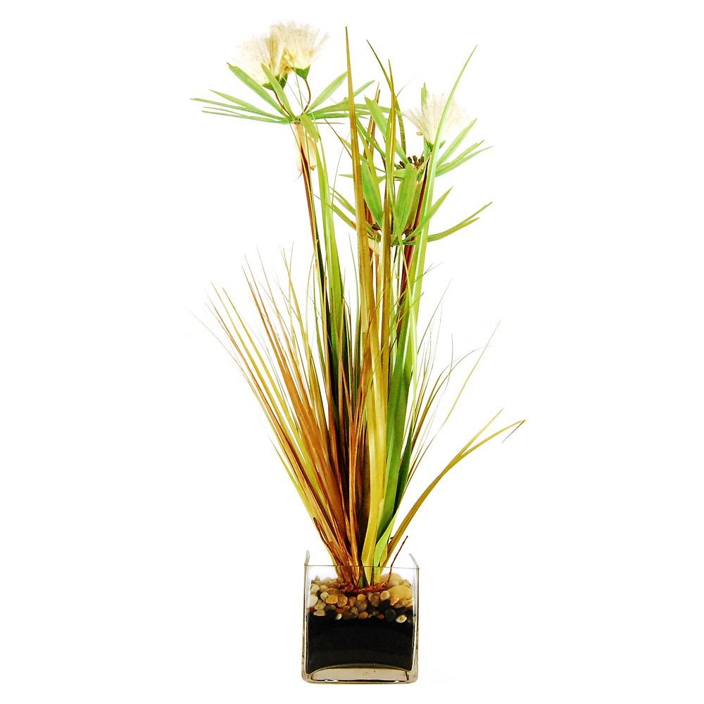Image of Artificial Grass Arrangement Green 30 - Lcg Florals