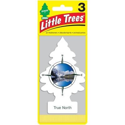 Little Trees True North Air Freshener 3pk Target