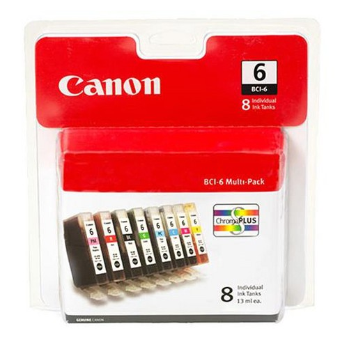 Canon BCI-6 Ink Tank 8-Pack - image 1 of 1