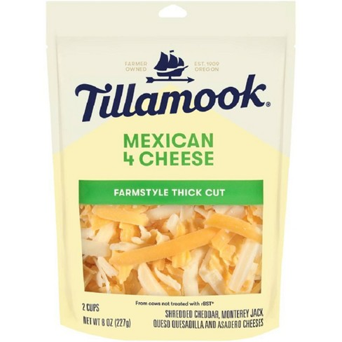 Tillamook Mexican 4 Cheese Blend Shredded Cheese - 8oz - image 1 of 1