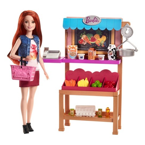 Barbie Grocery Playset - image 1 of 6