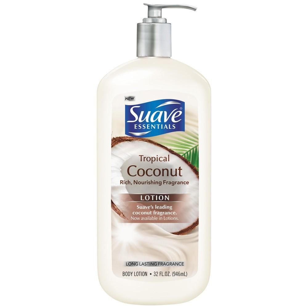 Suave Essentials Body Lotion Tropical Coconut - 32oz