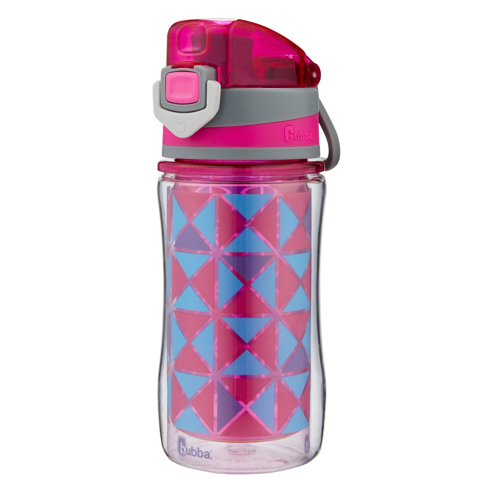 Image of Bubba 12oz Flo Plastic Insulated Water Bottle Pink/Purple