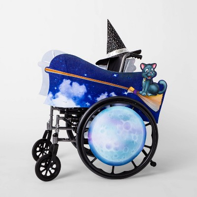 Kids' Adaptive Flying Witch Halloween Costume Wheelchair Cover with Hat - Hyde & EEK! Boutique™