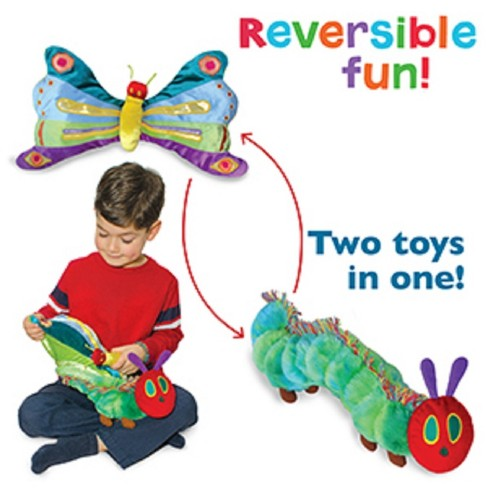 Eric Carle Reversible Caterpillar / Butterfly Plush - image 1 of 1