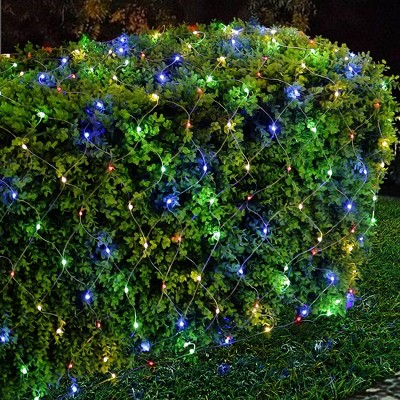 Kurt Adler 300-Light 6' Starburst Multi LED Net Light