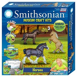 Smithsonian Museum Crafting Kit - Horses