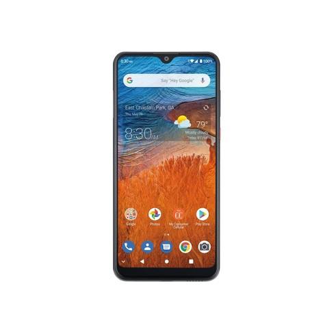 Consumer Cellular Postpaid ZMAX 10 (32GB) - Dark Gray - image 1 of 4