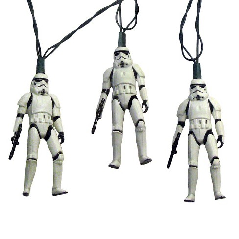Star Wars 10ct Stormtrooper Christmas String Lights - image 1 of 1