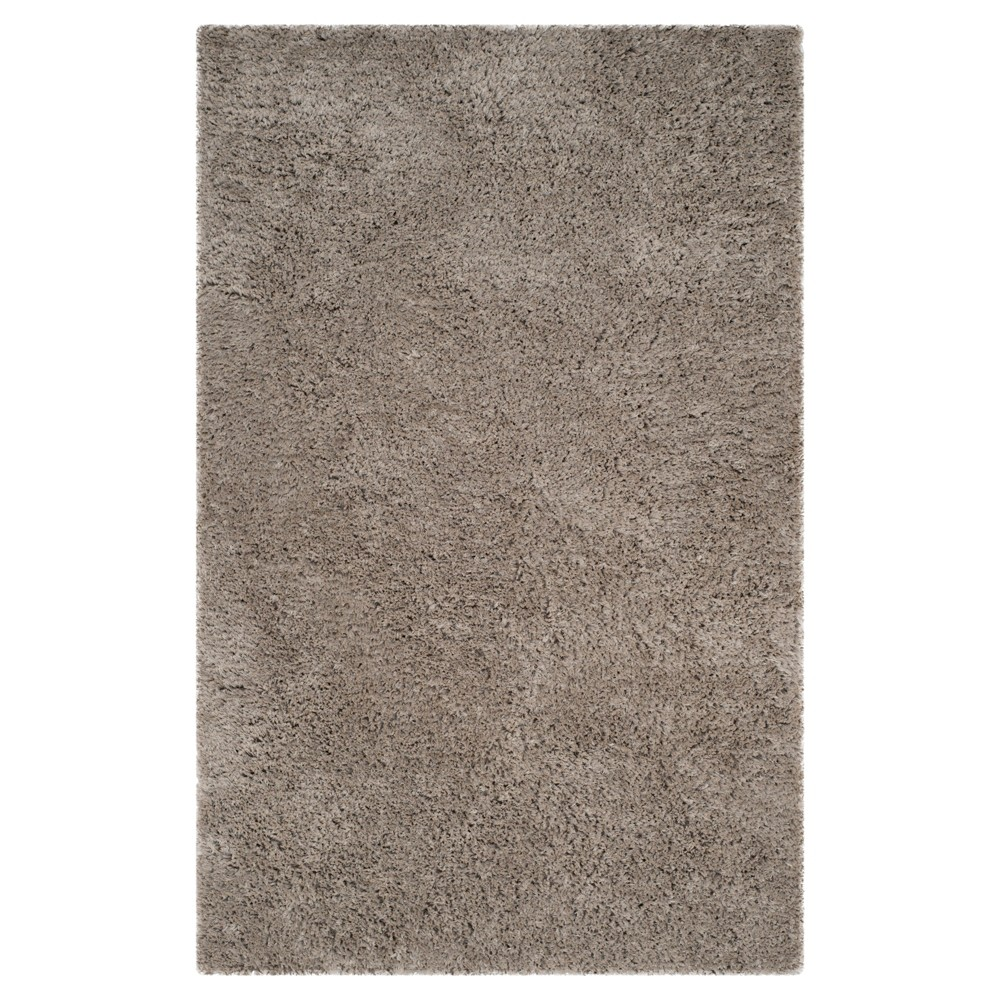 Silver Solid Tufted Area Rug - (5'x8') - Safavieh