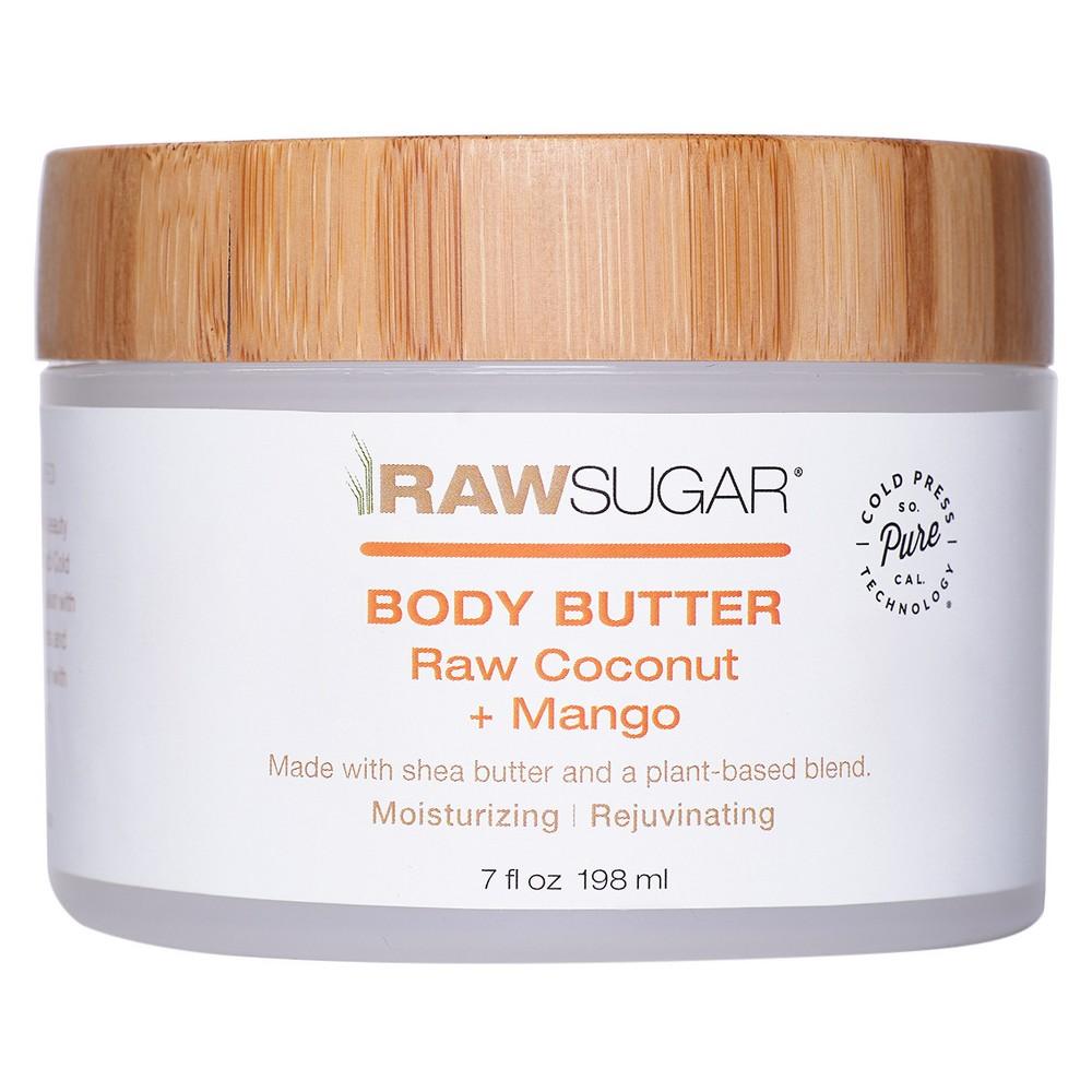 Raw Sugar Raw Coconut + Mango Body Butter - 7 fl oz
